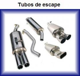 tubos de escape coche furgoneta camion