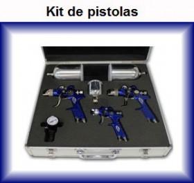 kit pistolas de pintura coche vehiculo moto