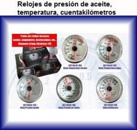 reloj presion aceite reloj presion temperatura cuentakilometros