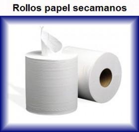 papel seca manos rollos grandes