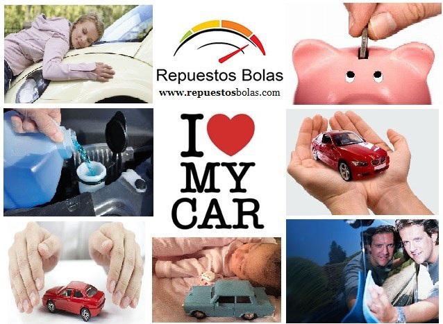 FOTO I LOVE MY CAR REPUESTOS BOLAS